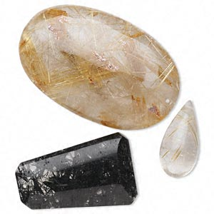 bead and focal mix, multi-gemstone (natural), 20x10mm-43x27mm mixed shape, b- grade, mohs hardness 7. sold per pkg of 3.