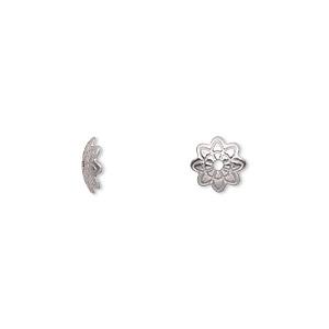 bab81106383fc Stainless Steel Bead Caps - Fire Mountain Gems and Beads