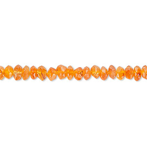 bead, carnelian (dyed / heated), 5x3mm faceted rondelle, c grade, mohs hardness 6-1/2 to 7. sold per 16-inch strand.