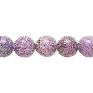 bead, charoite (stabilized), 10mm round, c grade, mohs hardness 5 to 6. sold per 16-inch strand.