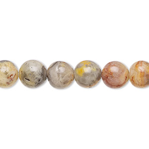 Agate Gemstone Bead 2040pcs 8mm Crazy Lace Agate bead Round Agate Bead
