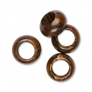 bead, dione, tiger iron (natural), 14x7mm hand-cut rondelle with 8mm hole, b grade, mohs hardness 7. sold per pkg of 4.