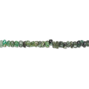 bead, emerald (oiled), 3x1mm-4x3mm hand-cut heishi, d grade, mohs hardness 7-1/2 to 8. sold per 13-inch strand.