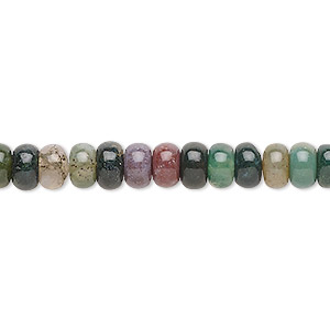 bead, fancy jasper (natural), 6x3.5mm rondelle, b grade, mohs hardness 6-1/2 to 7. sold per 16-inch strand.