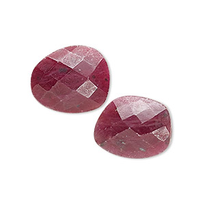 8 MC730 Ruby Faceted Spacer Beads 7-9 mm High Quality Pink Ruby Faceted Tyre Beads