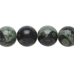 bead, kambaba jasper (natural), 12mm round, b grade, mohs hardness 6-1/2 to 7. sold per 16-inch strand.
