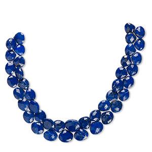 Natural Lapis Lazuli Faceted Gemstone Beads 18X25 MM Pear Shape 10 pecs GU-1113