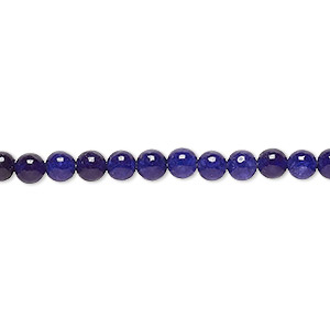 bead, malaysia jade (dyed), dark grape, 4-5mm round, c grade, mohs hardness 7. sold per 15-inch strand.
