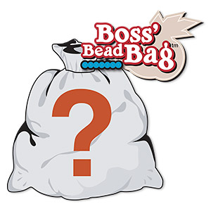 bead mix, boss bead bag™, 1 pound of great stuff. sold individually.