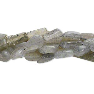bead mix, labradorite (natural / dyed), 5mm-17x8mm hand-cut mixed shape, d grade, mohs hardness 6 to 6-1/2. sold per pkg of (5) 13-inch strands.