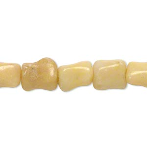 bead, multi-calcite (natural), 10x8mm-11x9mm dog bone, c grade, mohs hardness 3. sold per 15-inch strand.