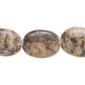 bead, pink feldspar (natural), 19x14mm-20x15mm flat oval, c grade, mohs hardness 6 to 6-1/2. sold per 15-inch strand.