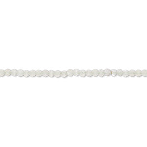 bead, prehnite (natural), 2mm hand-cut faceted rondelle, c- grade, mohs hardness 6 to 6-1/2. sold per 13-inch strand.