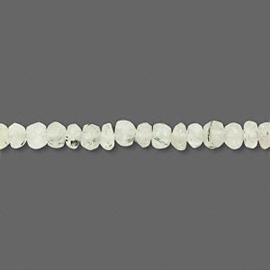 bead, prehnite (natural), 4x2mm-4x4mm hand-cut faceted rondelle, c+ grade, mohs hardness 6 to 6-1/2. sold per 13-inch strand.