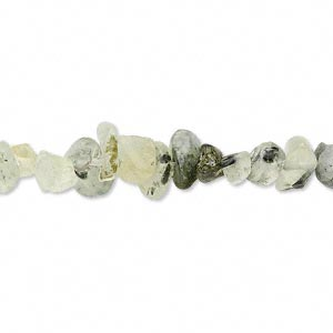 bead, prehnite (natural), small chip, mohs hardness 6 to 6-1/2. sold per 16-inch strand. minimum 5 per order.