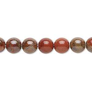 bead, rainbow jasper (natural), 8mm round, b grade, mohs hardness 6-1/2 to 7. sold per 16-inch strand.
