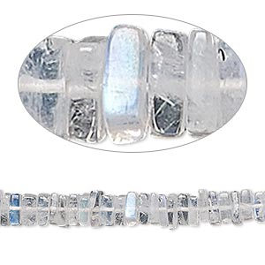 4mm 13 Inches Gemstone Rondelles TR119 5 Strands Shaded Grey Moonstone Silver Coated Beads Faceted Center Drill Rondelles