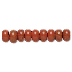Graduated Mini-fan  Healing Stone Necklace, natural SALE Red Jasper