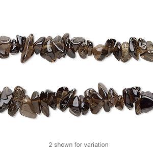 65 Pcs Smoky Quartz Necklace Smoky Quartz Briolettes 5x7mm RAMA98 Smoky Quartz Shaded Faceted Pear Beads 8 Inch