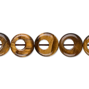 bead, tigereye (natural), 13mm round go-go, b grade, mohs hardness 7. sold per 8-inch strand, approximately 15 beads.
