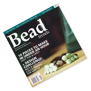 book, 10 pieces to make in under an hour fast, fun  easy by bead trends magazine. sold individually. limit 1 per order.