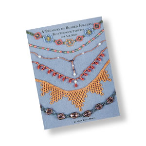 book, a treasury of beaded jewelry by mary ellen harte. sold individually.