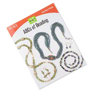 book, abcs of beading from beadbutton projects, easy-does-it series. sold individually.