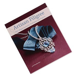 book, artisan filigree: wire-wrapping jewelry techniques and projects by jodi bombardier. sold individually.