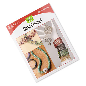 book, bead crochet from beadbutton projects, easy-does-it series. sold individually.