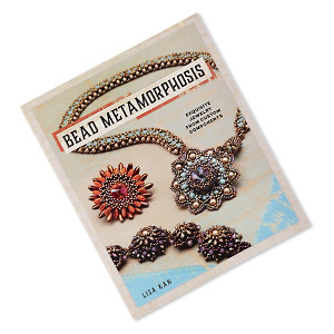 book, bead metamorphosis: exquisite jewelry from custom components by lisa kan. sold individually.