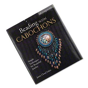 book, beading with cabochons by jamie cloud eakin. sold individually.