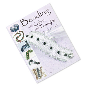 book, beading with cubes and triangles by alice korach. sold individually.
