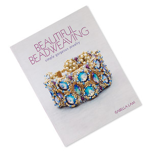 book, beautiful beadweaving: simply gorgeous jewelry by isabella lam. sold individually.