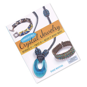 book, convertible crystal jewelry: reverse it, twist it, wear it many ways by diane whiting. sold individually.