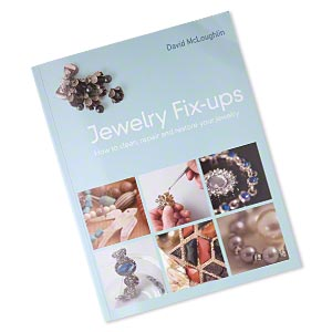 book, jewelry fix-ups: how to clean, repair and restore your jewelry by david mcloughlin. sold individually.