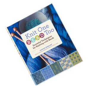 book, knit one bead too: essential techniques for knitting with beads by judith durant. sold individually.