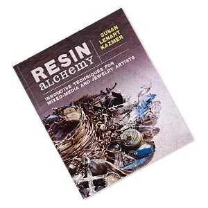 book, resin alchemy: innovative techniques for mixed-media and jewelry artists by susan lenart kazmer. sold individually.