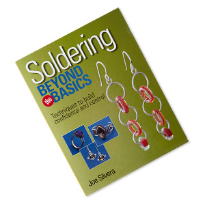 book, soldering beyond the basics: techniques to build confidence and control by joe silvera. sold individually.
