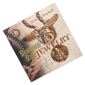 book, steampunk style jewelry by jean campbell. sold individually.
