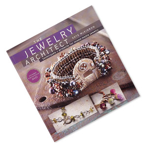 book, the jewelry architect: techniques + projects for mixed-media jewelry with instructional dvd by kate mckinnon. sold individually. limit 1 per order.