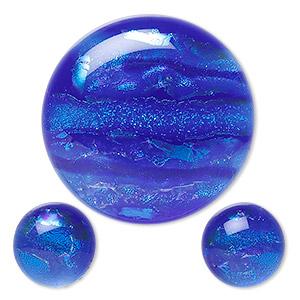 Dichroic Glass Fire Gems