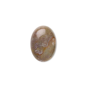 cabochon, fancy jasper (natural), 18x13mm calibrated oval, b grade, mohs hardness 6-1/2 to 7. sold per pkg of 4.