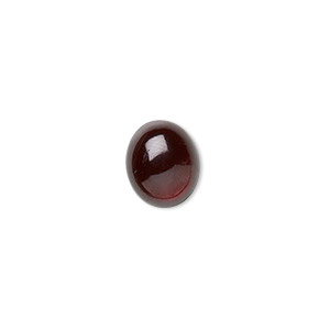 cabochon, garnet (natural), 12x10mm hand-cut calibrated oval, b grade, mohs hardness 7 to 7-1/2. sold individually.