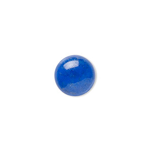 cabochon, lapis lazuli (natural), 12mm calibrated round, a- grade, mohs hardness 5 to 6. sold individually.