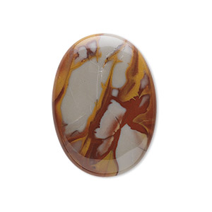 cabochon, noreena jasper (natural), 30x22mm calibrated oval, b grade, mohs hardness 6-1/2 to 7. sold individually.