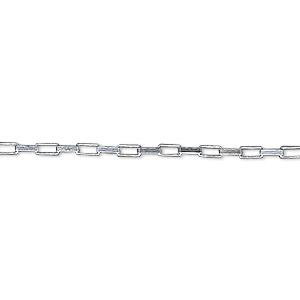 chain, sterling silver, 1.5mm long box, 18 inches. sold individually.
