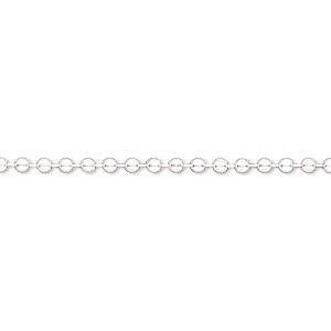chain, sterling silver-filled, 2.1mm ball. sold per pkg of 5 feet.
