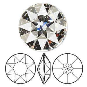 f7adfad71 Chaton, Swarovski® crystal rhinestone, rose, 18x13mm emerald-cut ...
