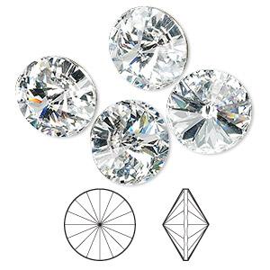 12mm Light Siam Rivoli Round Rhinestones Point back Nail Art Jewelry Making Crystals Glass Glitter Strass Chatons Loose Beads Aslove