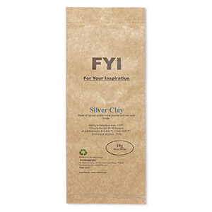 clay, fyi for your inspiration, fine silver. sold per 10-gram pkg.